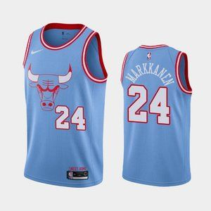 Chicago Bulls Lauri Markkanen City Jersey